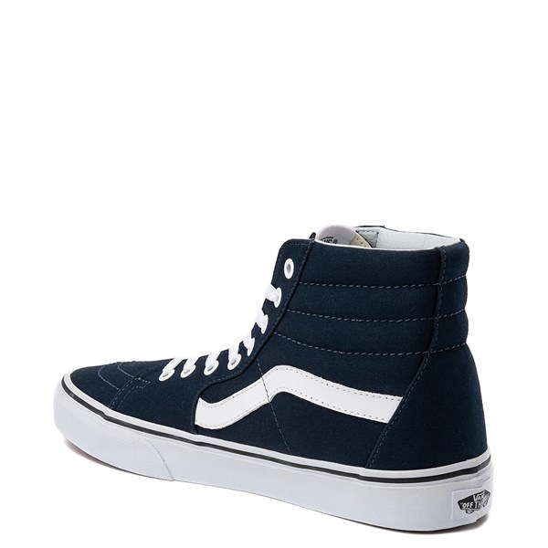 alternate view Vans Sk8 Hi Skate Shoe - Dress BluesALT2