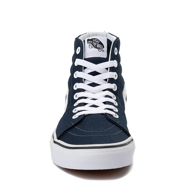 alternate view Vans Sk8 Hi Skate Shoe - Dress BluesALT4