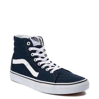 Alternate view of Blue Vans Sk8 Hi Skate Shoe