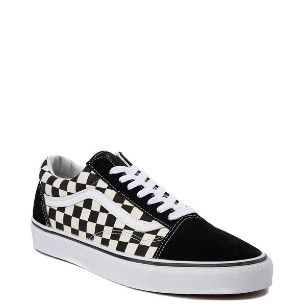 alternate view Vans Old Skool Chex Skate ShoeALT1