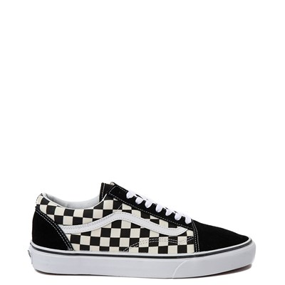 Main view of Vans Old Skool Checkerboard Skate Shoe