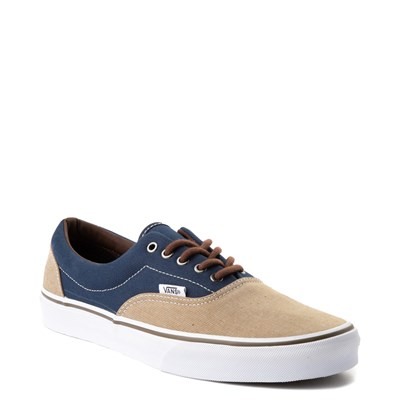 Alternate view of Navy and Khaki Vans Era T&H Skate Shoe