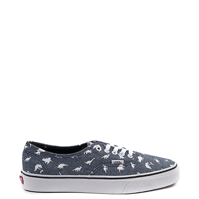 Vans Authentic Chambray Dinos Skate Shoe