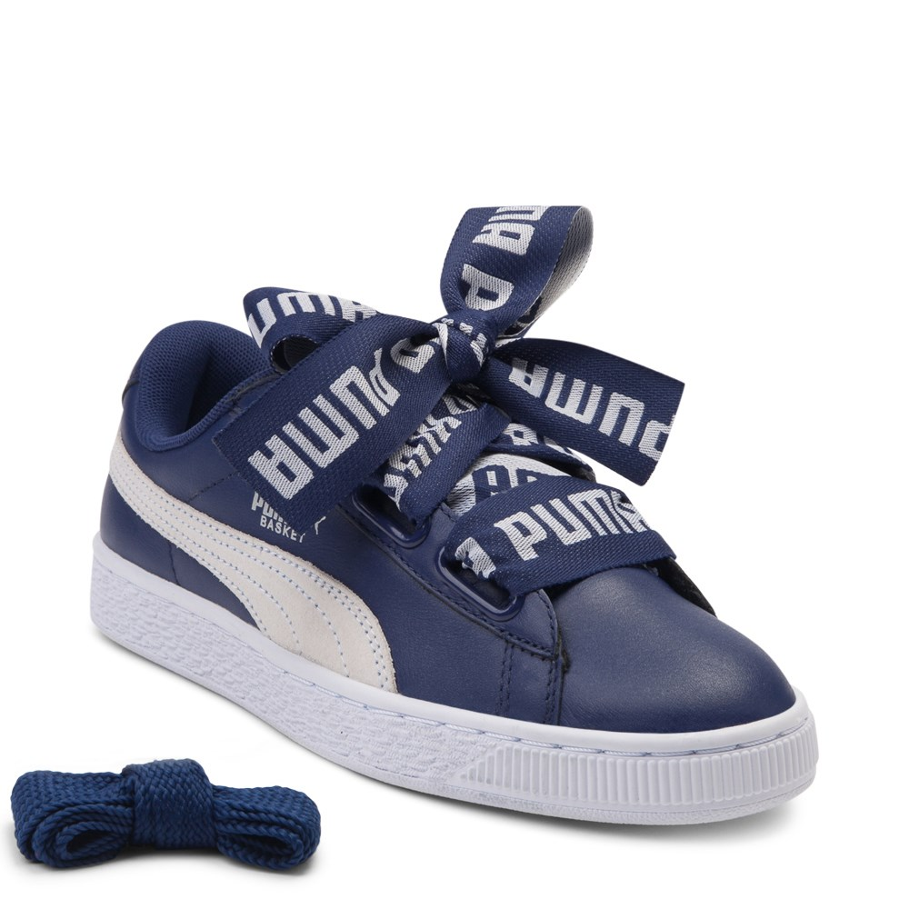 598af0d3a47 Womens Puma Basket Heart DE Athletic Shoe