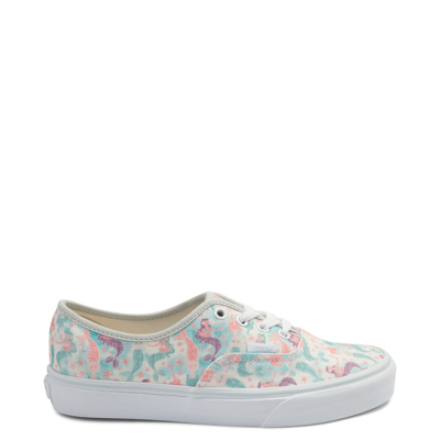Main view of Vans Authentic Mermaid Glitter Skate Shoe