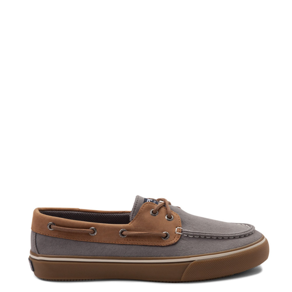 Mens Sperry Top-Sider Bahama Boat Shoe - Gray