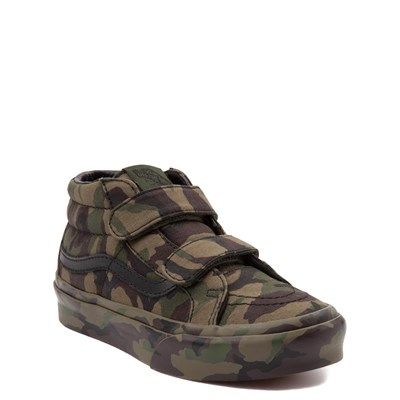 Alternate view of Youth/Tween Vans Sk8 Mid Reissue V Camo Skate Shoe