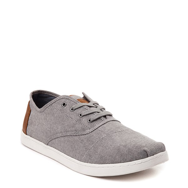 alternate view Mens TOMS Donovan Casual Shoe - GrayALT1