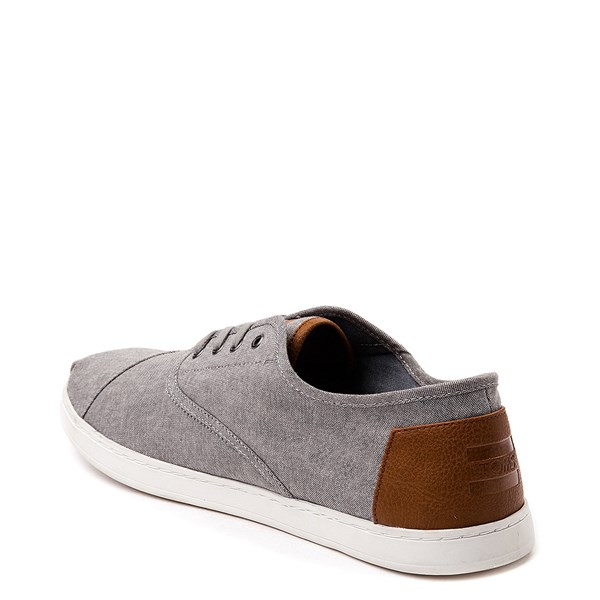 alternate view Mens TOMS Donovan Casual Shoe - GrayALT2