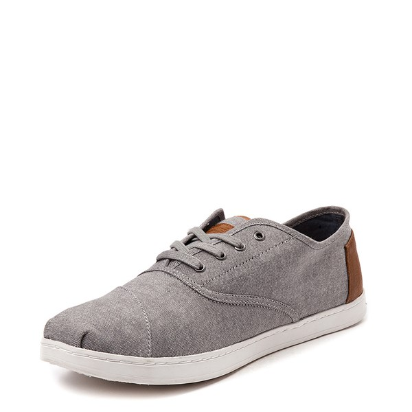 alternate view Mens TOMS Donovan Casual Shoe - GrayALT3