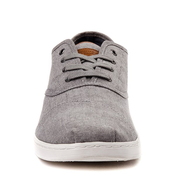alternate view Mens TOMS Donovan Casual Shoe - GrayALT4