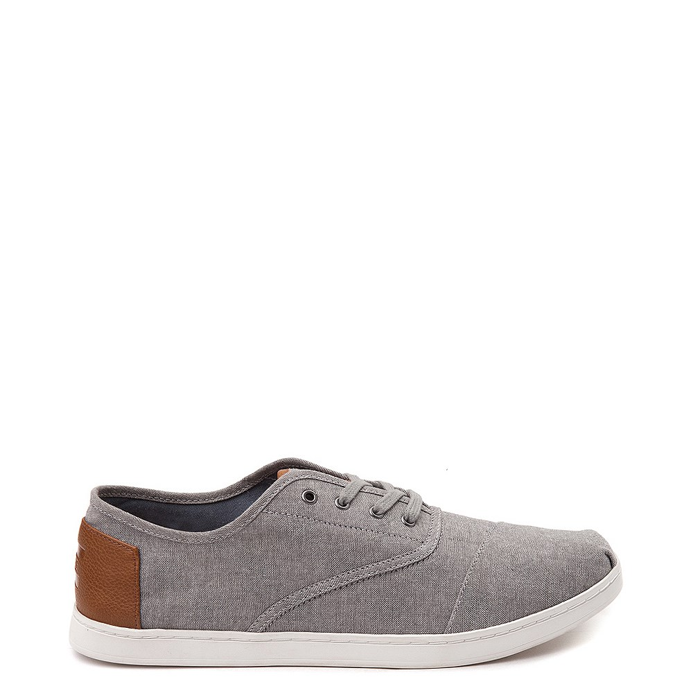 Mens TOMS Donovan Casual Shoe - Gray