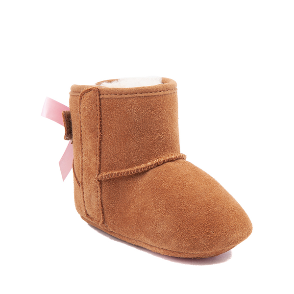 alternate view UGG® Jesse Bow II Boot - Baby / Toddler - ChestnutALT5