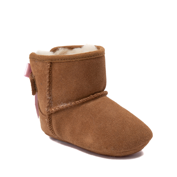 alternate view UGG® Jesse Bow II Boot - Baby / Toddler - ChestnutALT1