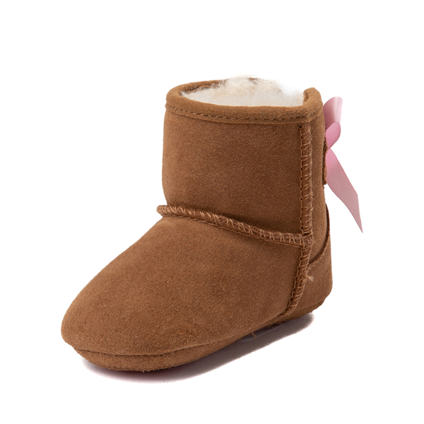 alternate view UGG® Jesse Bow II Boot - Baby / Toddler - ChestnutALT3
