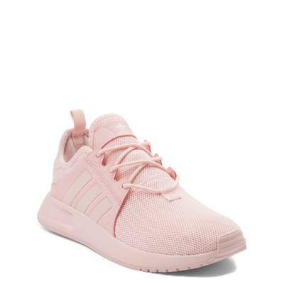 Alternate view of adidas X_PLR Athletic Shoe - Little Kid - Pink