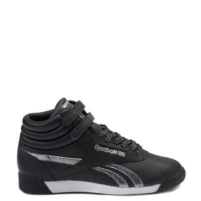 Main view of Womens Reebok Freestyle Hi Glitter Athletic Shoe
