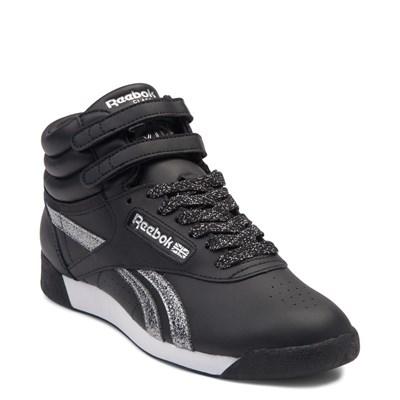 Alternate view of Womens Reebok Freestyle Hi Glitter Athletic Shoe
