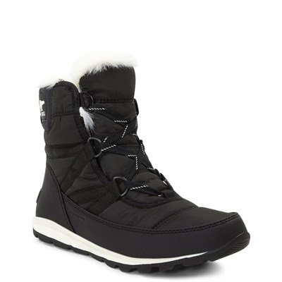 Alternate view of Womens Sorel Whitney Short Boot - Black