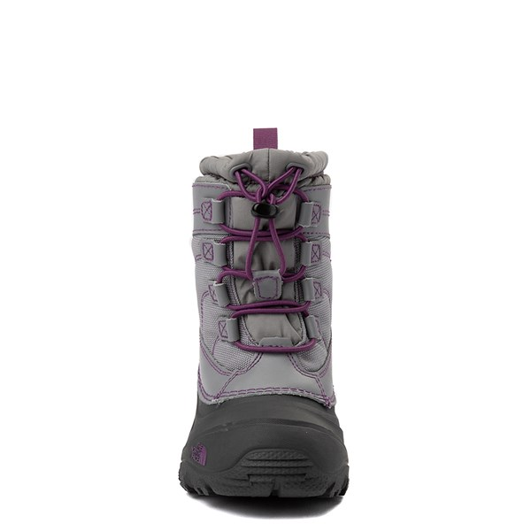 alternate view The North Face Alpenglow IV Boot - Little Kid - Frost GrayALT4