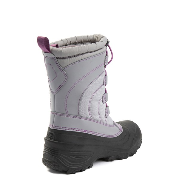 alternate view The North Face Alpenglow IV Boot - Big Kid - Frost GrayALT2