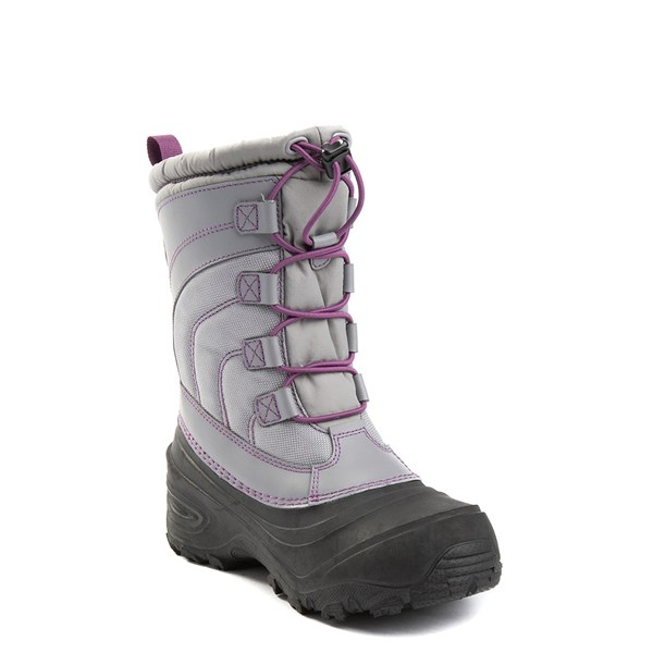 alternate view The North Face Alpenglow IV Boot - Big Kid - Frost GrayALT3