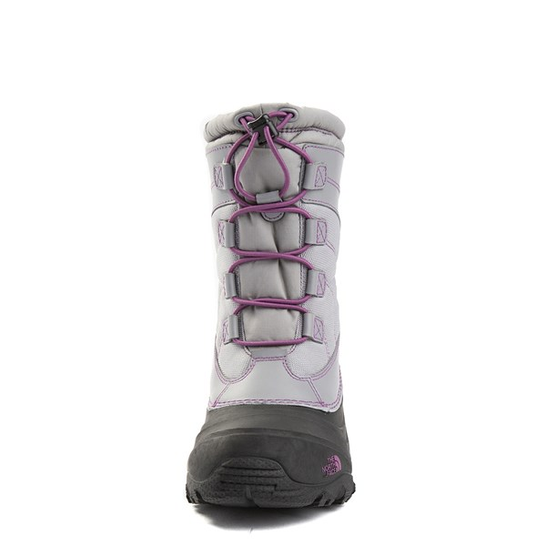 alternate view The North Face Alpenglow IV Boot - Big Kid - Frost GrayALT4