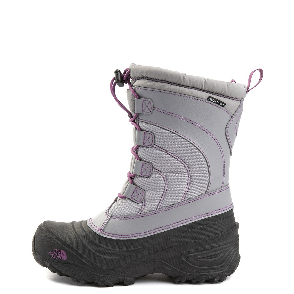 The North Face Alpenglow IV Boot - Big Kid - Frost Gray