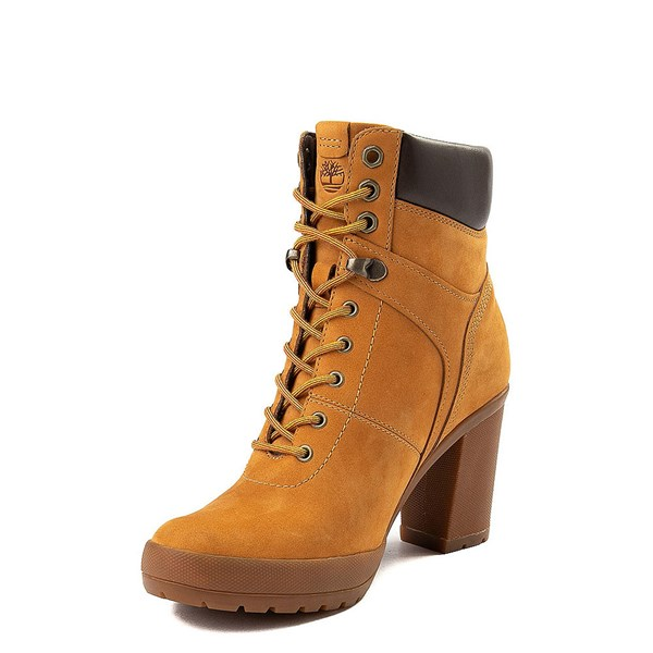 alternate view Womens Timberland Camdale Field Boot - WheatALT3