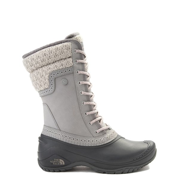 Default view of Womens The North Face Shellista II Mid Boot - Gray / Pink