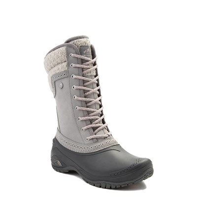Alternate view of Womens The North Face Shellista II Mid Boot - Gray / Pink