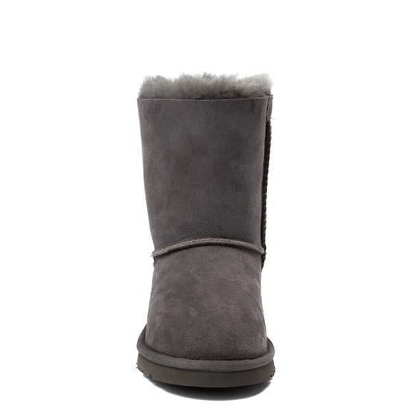alternate view UGG® Bailey Bow II Boot - Little Kid / Big Kid - GrayALT4