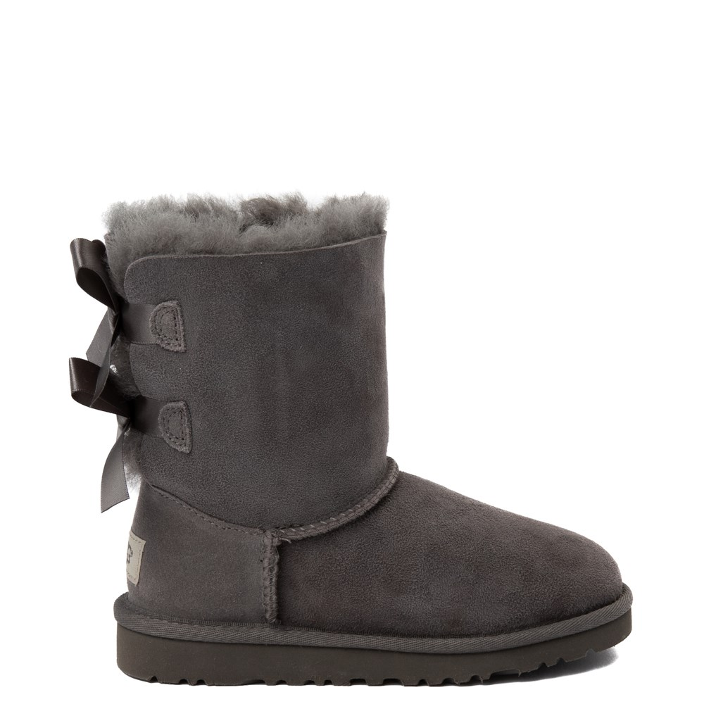 UGG® Bailey Bow II Boot - Little Kid / Big Kid - Gray