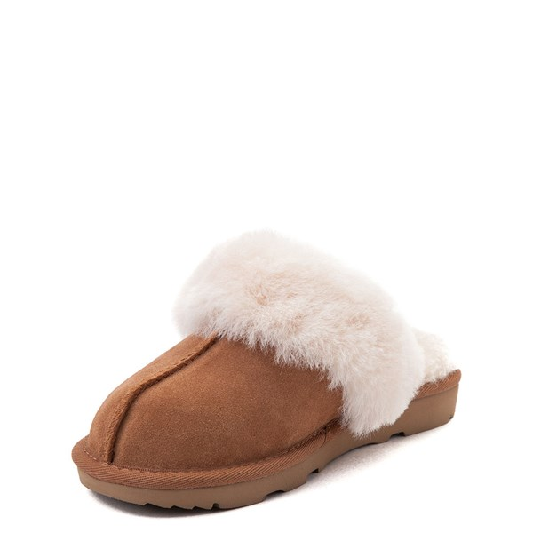 alternate view UGG® Cozy II Slipper - Little Kid / Big Kid - ChestnutALT3