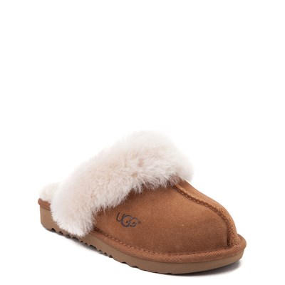 Alternate view of UGG® Cozy II Slipper - Little Kid / Big Kid - Chestnut