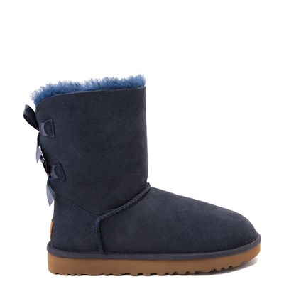 Main view of Womens UGG® Bailey Bow II Boot - Navy