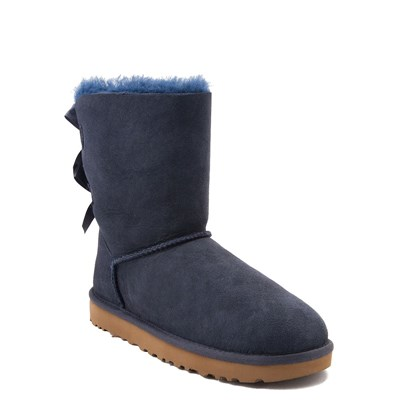 Alternate view of Womens UGG® Bailey Bow II Boot - Navy