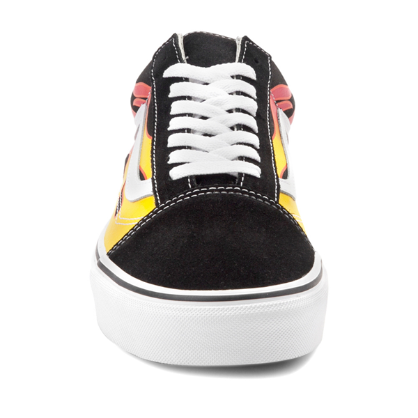 alternate view Vans Old Skool Flames Skate Shoe - BlackALT4