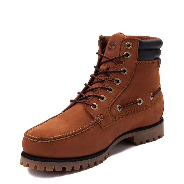 alternate view Mens Timberland Oakwell Boot - SaddleALT2