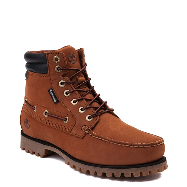 alternate view Mens Timberland Oakwell Boot - SaddleALT5