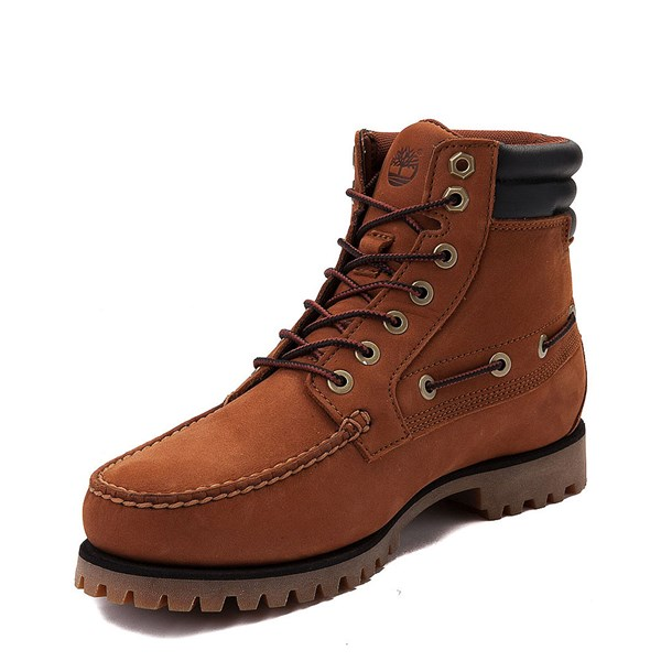 alternate view Mens Timberland Oakwell Boot - SaddleALT3