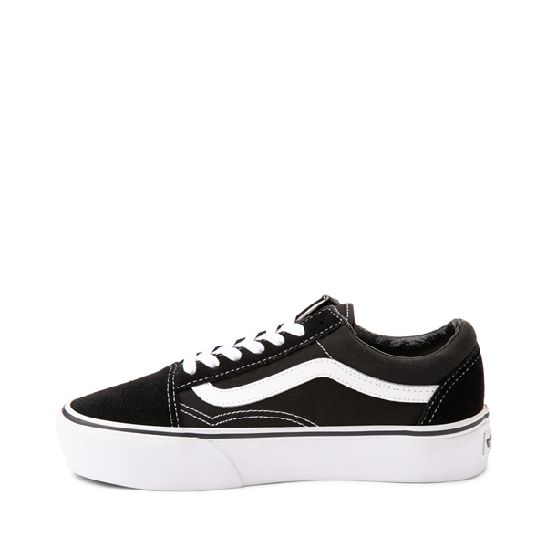 alternate view Vans Old Skool Platform Skate Shoe - BlackALT1
