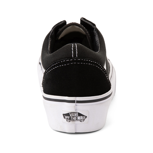 alternate view Vans Old Skool Platform Skate Shoe - BlackALT4
