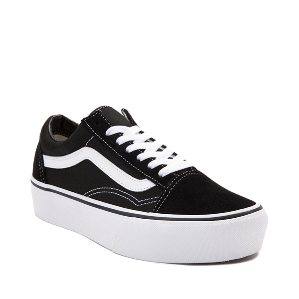 alternate view Vans Old Skool Platform Skate Shoe - BlackALT5