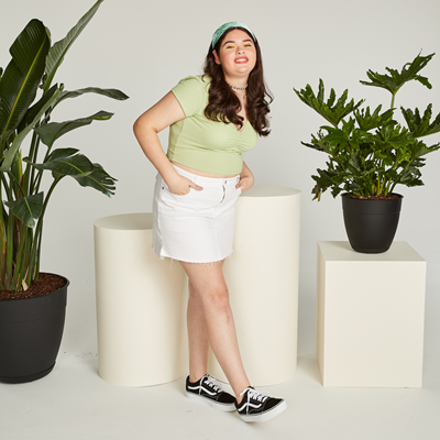 Vans Old Skool Platform Skate Shoe - Black   Journeys