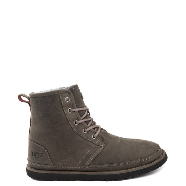 Main view of Mens UGG® Harkley Waterproof Boot - Charcoal
