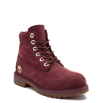 "Alternate view of Timberland 6"" Classic Boot - Little Kid - Burgundy"