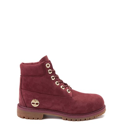 "Main view of Timberland 6"" Chocolate Truffle Boot - Big Kid - Burgundy"