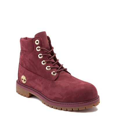 "Alternate view of Timberland 6"" Chocolate Truffle Boot - Big Kid - Burgundy"