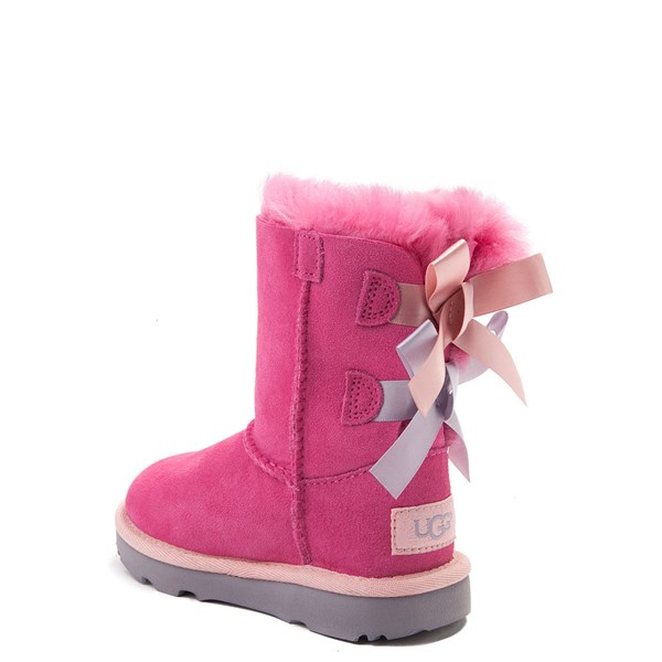 alternate view UGG® Bailey Bow II Boot - Toddler / Little Kid - PinkALT2